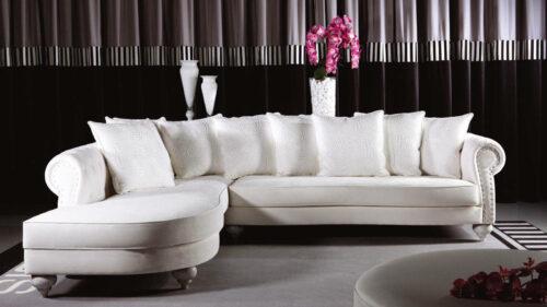 Κλασικό γωνιακό σαλόνι - KING
