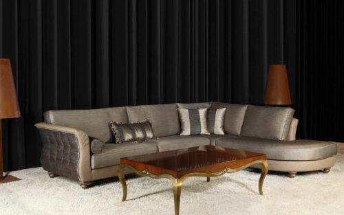 Κλασικό γωνιακό σαλόνι - SEMELI