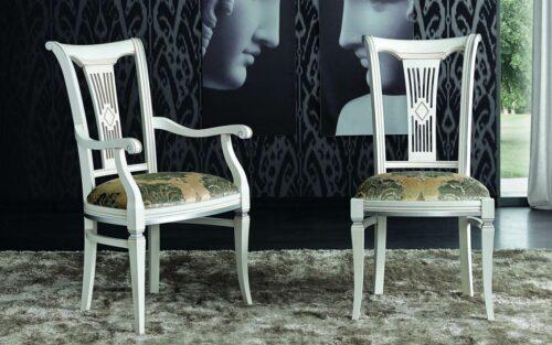 Κλασική Ιταλική καρέκλα τραπεζαρίας - ART - 3024