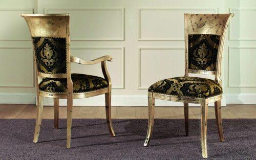 Κλασική Ιταλική καρέκλα τραπεζαρίας - ART - 3030- μέ ή χωρίς μπράτσα