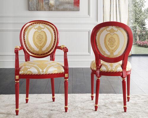 Κλασική Ιταλική καρέκλα τραπεζαρίας - ART - 3100
