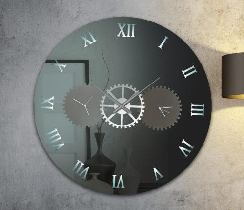 Καθρέπτης ρολόϊ με LED φωτισμό - Ν5