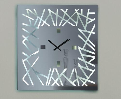 Καθρέπτης ρολόϊ με LED φωτισμό - Ν6