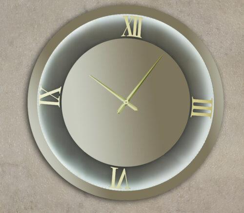 Καθρέπτης ρολόϊ με LED φωτισμό - Ν7