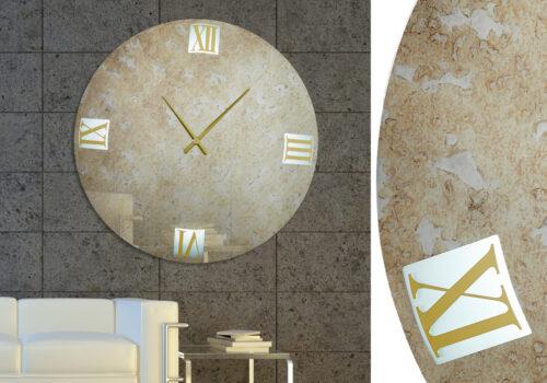 Καθρέπτης ρολόϊ με LED φωτισμό - Ν8