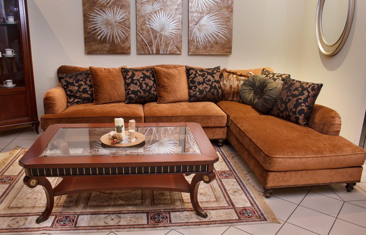 Κλασικό γωνιακό σαλόνι ERIC