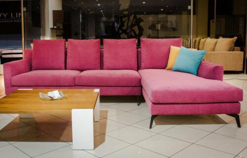 Μοντέρνας σχεδίασης γωνιακό σαλόνι - Grey