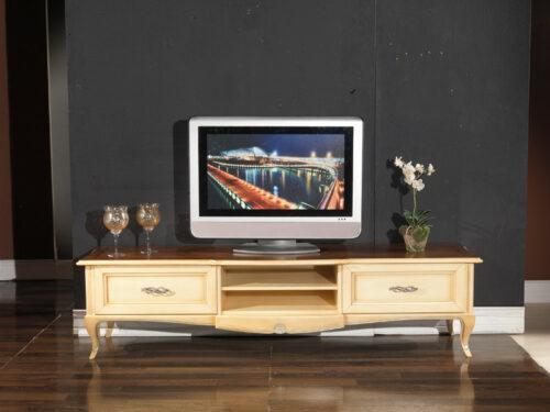 Κλασικό έπιπλο TV - Κοχύλι Ν2 με πατίνα