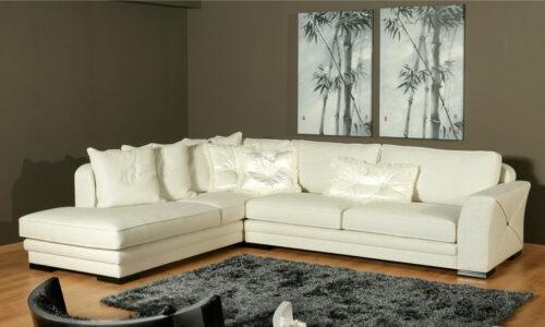 Νεοκλασικός γωνιακός καναπές - Nouvelle