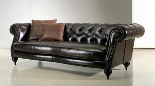 Κλασικός καναπές Kennedy - τύπου Chesterfield