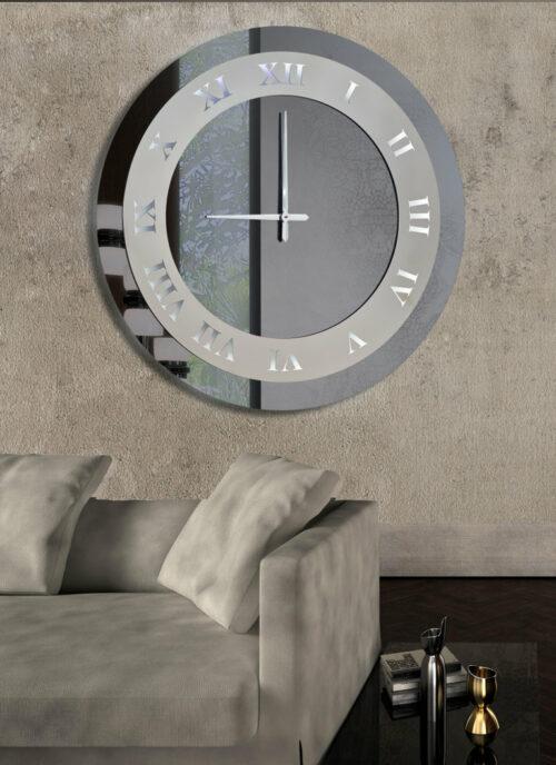 Καθρέπτης ρολόι - C180 led φωτιζόμενος
