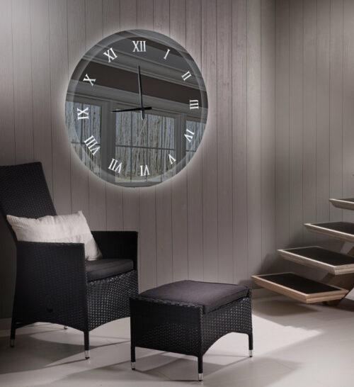 Καθρέπτης ρολόι - C190 led φωτιζόμενος