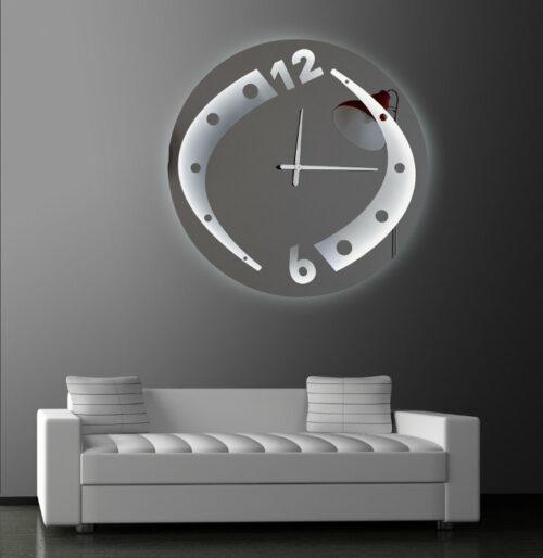 Καθρέπτης ρολόι - C210 led φωτιζόμενος