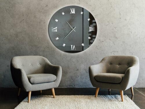 Καθρέπτης ρολόι - C280 led φωτιζόμενος