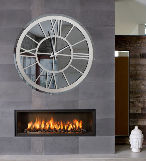 Καθρέπτης ρολόι - C50 led φωτιζόμενος