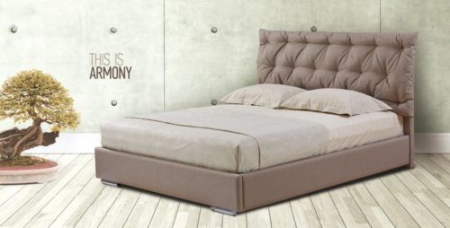 Ντυμένο κρεβάτι Armony