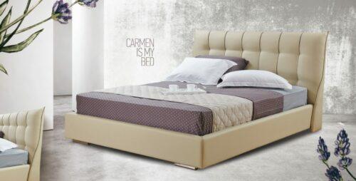 Ντυμένο κρεβάτι Carmen