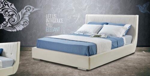 Ντυμένο κρεβάτι Elegant