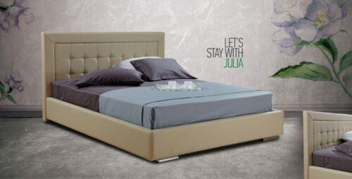 Ντυμένο κρεβάτι Julia