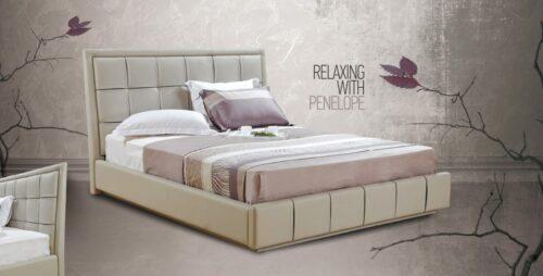 Ντυμένο κρεβάτι Penelope
