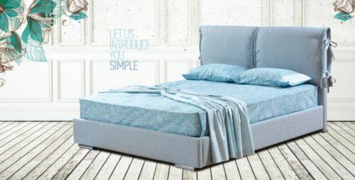 Ντυμένο κρεβάτι Simple