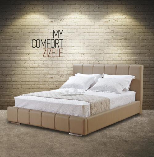 Ντυμένο κρεβάτι Zizele