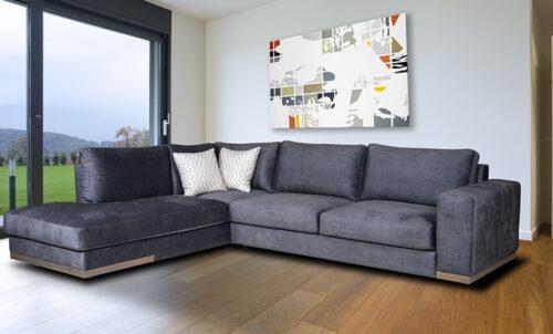 Γωνιακός καναπές Baxter