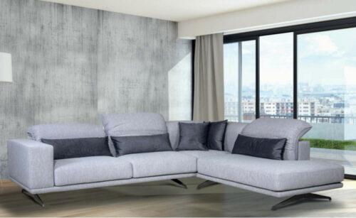 Γωνιακός καναπές Tiffany με ανακλίσεις