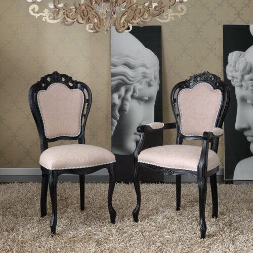 ιταλική κλασική καρέκλα τραπεζαρίας art 3002