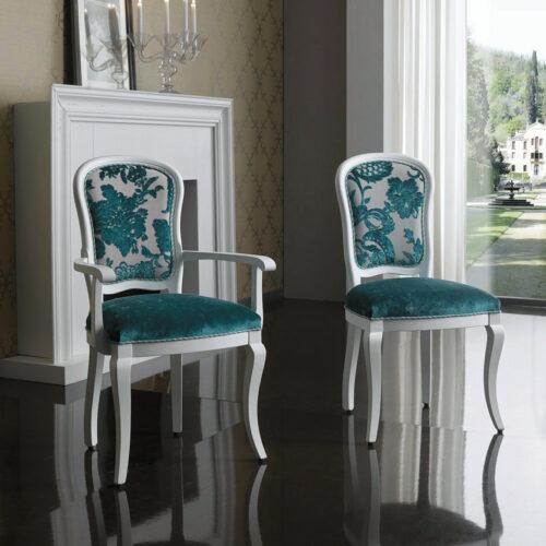 ιταλική κλασική καρέκλα τραπεζαρίας art 3017