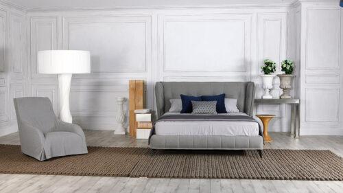 Ντυμένο κρεβάτι ETERNITY