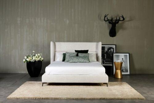 Ντυμένο κρεβάτι JADE