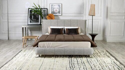 Ντυμένο κρεβάτι NUBIA