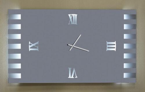 Καθρέπτης ρολόϊ με φωτισμό led- C430